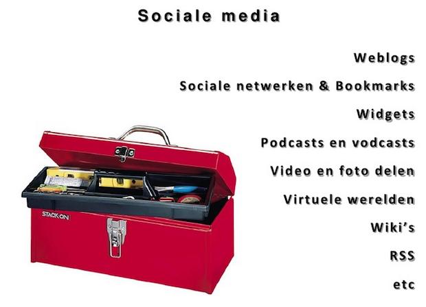 Presentatie Sociale netwerken &#038; Visualiseren Rotary 2009